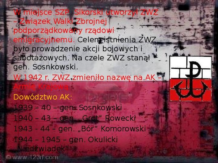 Polskie Państwo Podziemne - Slajd 6