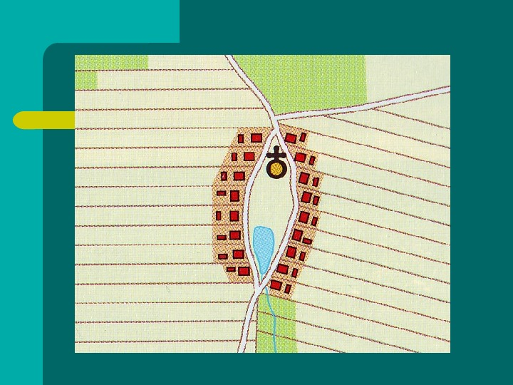 Typy osadnictwa wiejskiego - Slajd 12