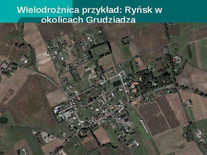 Typy osadnictwa wiejskiego - Slajd 15
