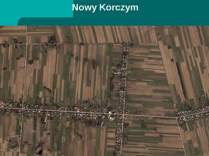 Typy osadnictwa wiejskiego - Slajd 20