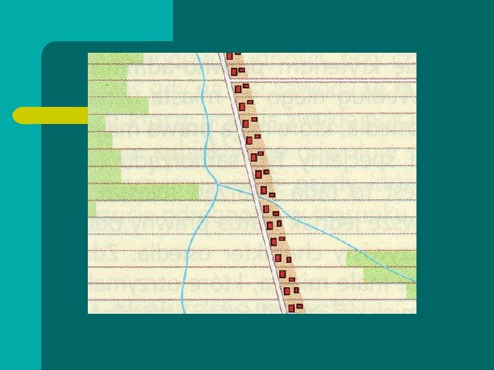Typy osadnictwa wiejskiego - Slajd 26