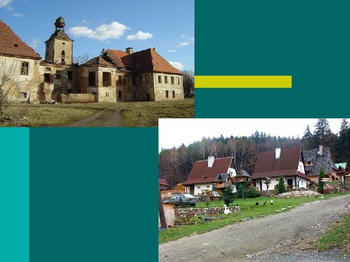 Typy osadnictwa wiejskiego - Slajd 32