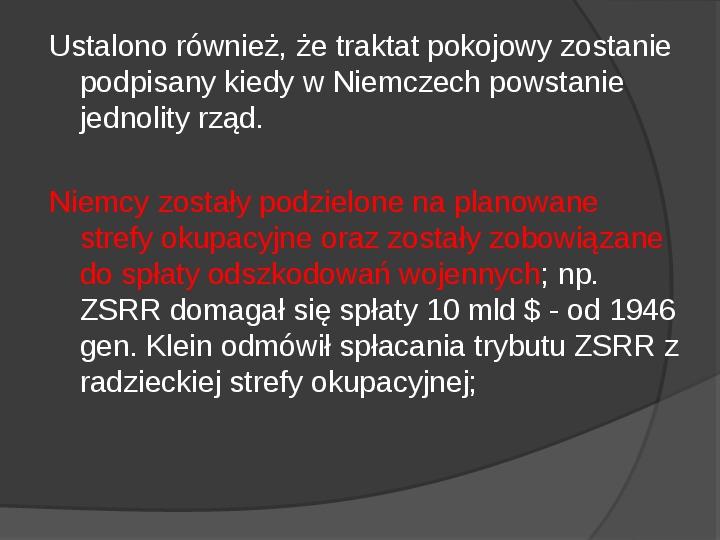 Powstanie dwóch państw niemieckich - NRD i NRF - Slajd 5