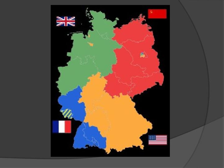 Powstanie dwóch państw niemieckich - NRD i NRF - Slajd 6