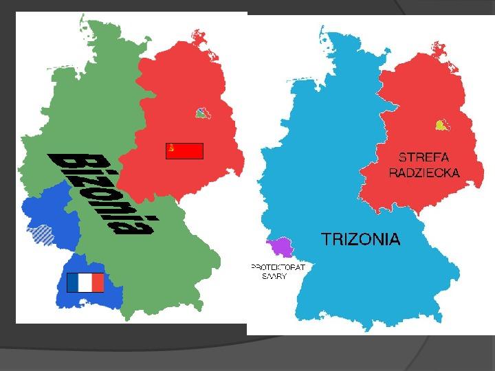 Powstanie dwóch państw niemieckich - NRD i NRF - Slajd 8