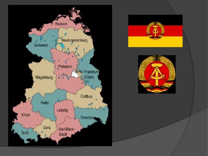 Powstanie dwóch państw niemieckich - NRD i NRF - Slajd 17