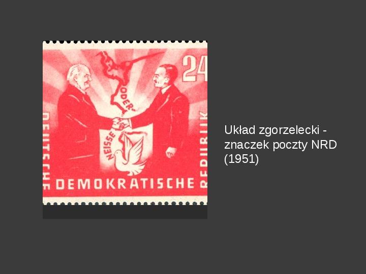 Powstanie dwóch państw niemieckich - NRD i NRF - Slajd 22