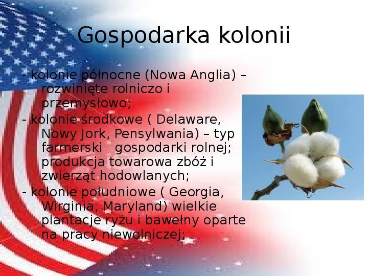 Powstanie Stanów Zjednoczonych Ameryki - Slajd 6