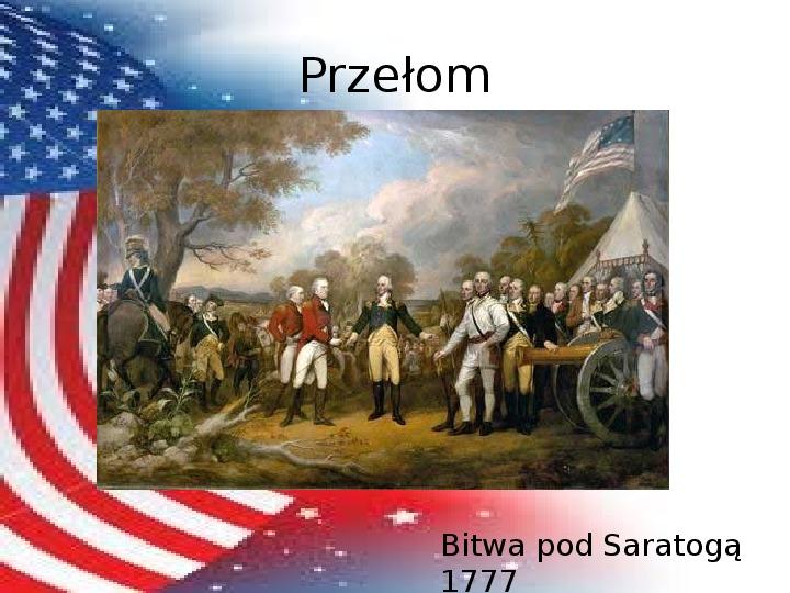 Powstanie Stanów Zjednoczonych Ameryki - Slajd 15