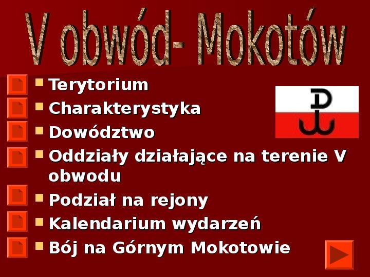 Powstanie Warszawskie 1944 - Slajd 10