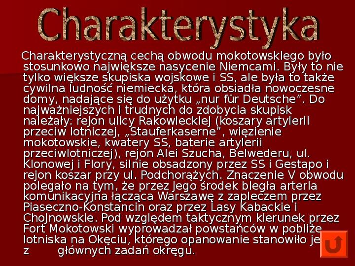 Powstanie Warszawskie 1944 - Slajd 12