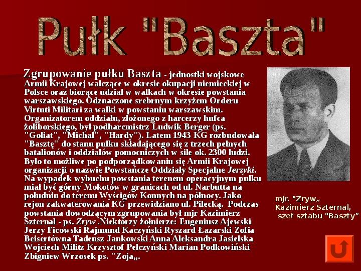 Powstanie Warszawskie 1944 - Slajd 15