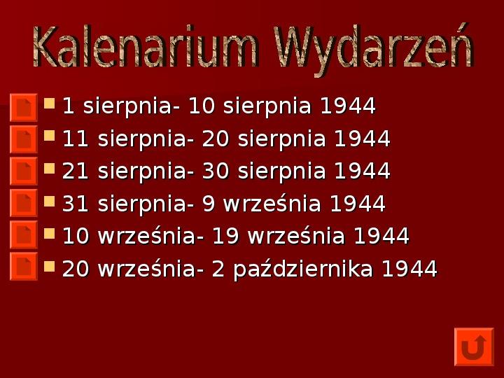 Powstanie Warszawskie 1944 - Slajd 17