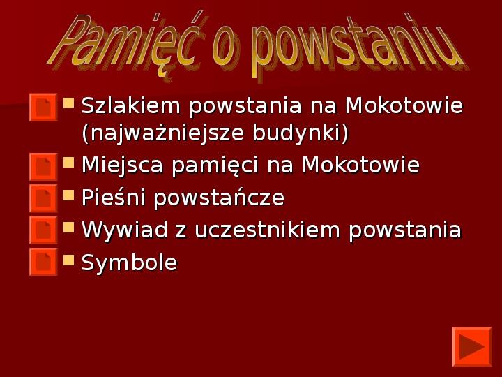 Powstanie Warszawskie 1944 - Slajd 25