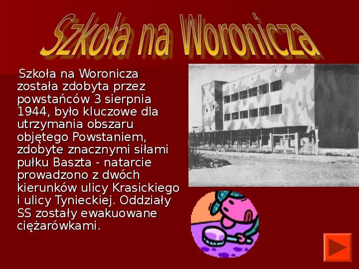 Powstanie Warszawskie 1944 - Slajd 28