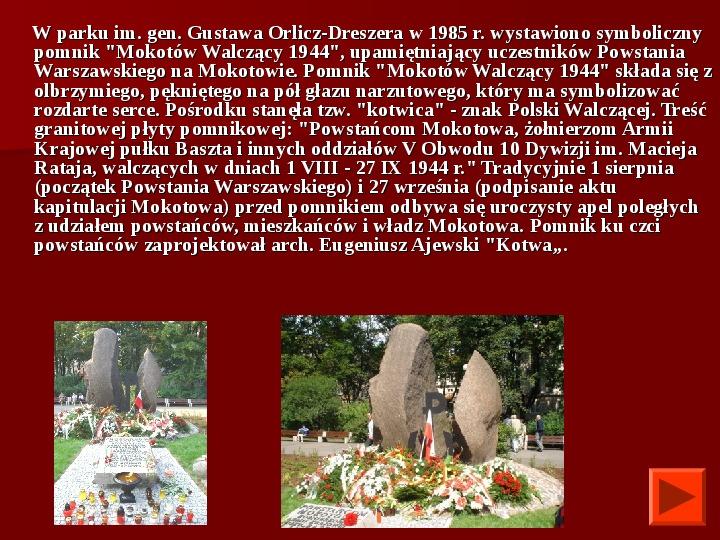 Powstanie Warszawskie 1944 - Slajd 34