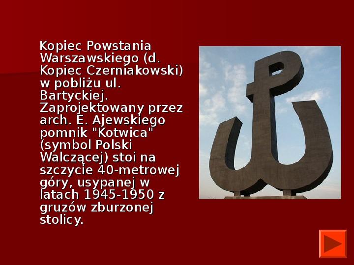Powstanie Warszawskie 1944 - Slajd 35