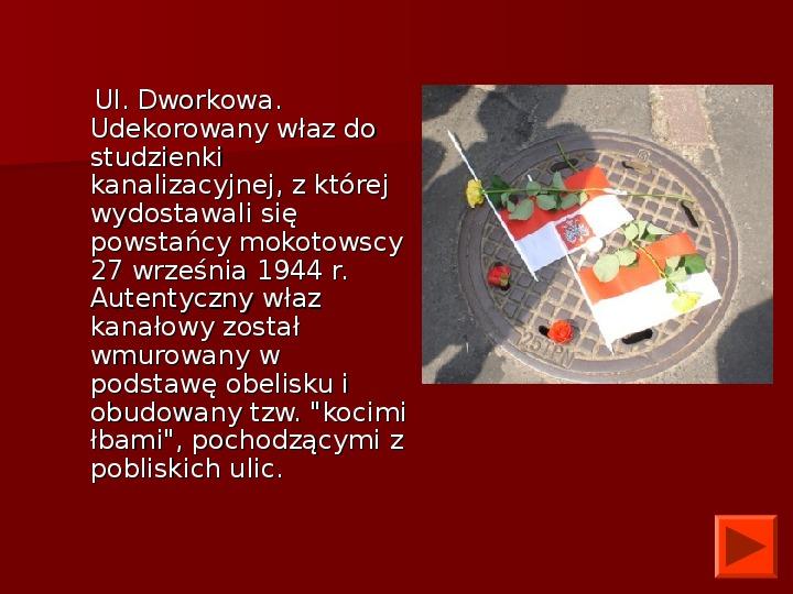 Powstanie Warszawskie 1944 - Slajd 37