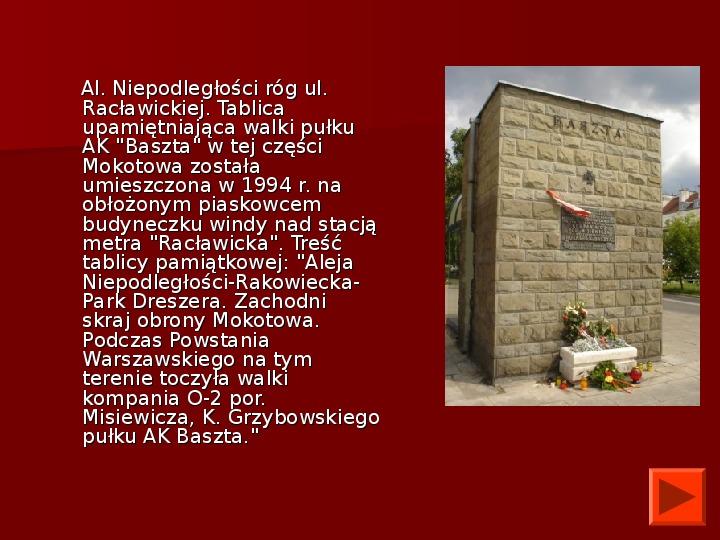 Powstanie Warszawskie 1944 - Slajd 38
