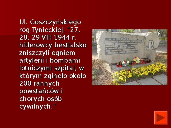 Powstanie Warszawskie 1944 - Slajd 39