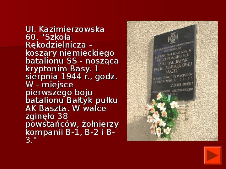 Powstanie Warszawskie 1944 - Slajd 41