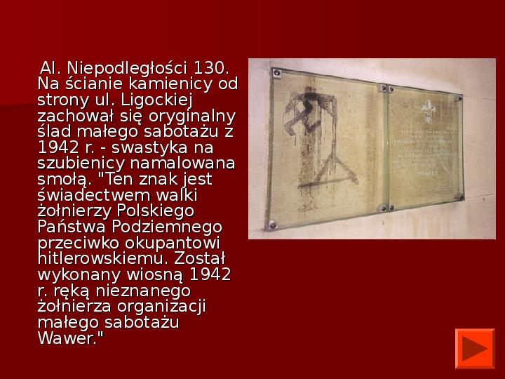 Powstanie Warszawskie 1944 - Slajd 42