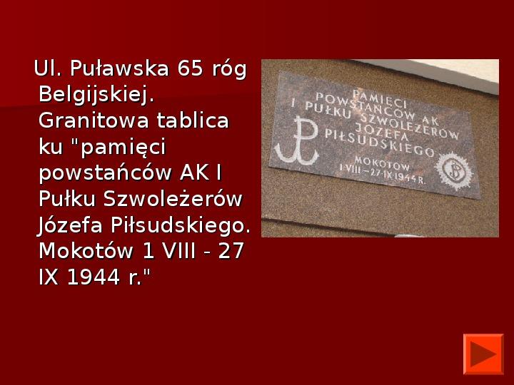 Powstanie Warszawskie 1944 - Slajd 46
