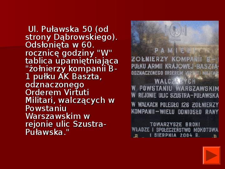 Powstanie Warszawskie 1944 - Slajd 47