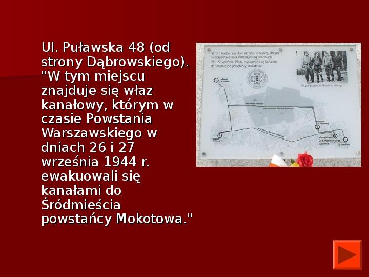 Powstanie Warszawskie 1944 - Slajd 48
