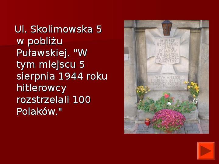 Powstanie Warszawskie 1944 - Slajd 49