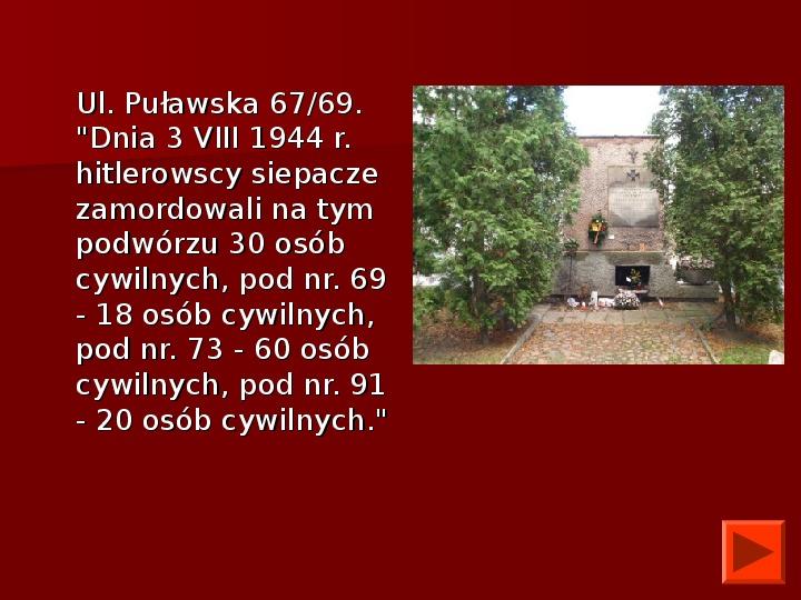 Powstanie Warszawskie 1944 - Slajd 51