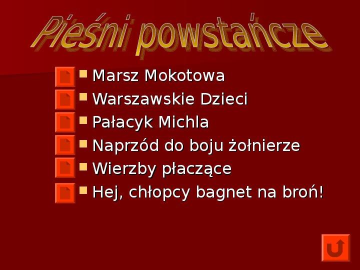 Powstanie Warszawskie 1944 - Slajd 54