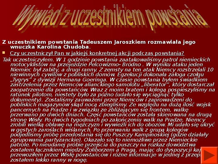 Powstanie Warszawskie 1944 - Slajd 61