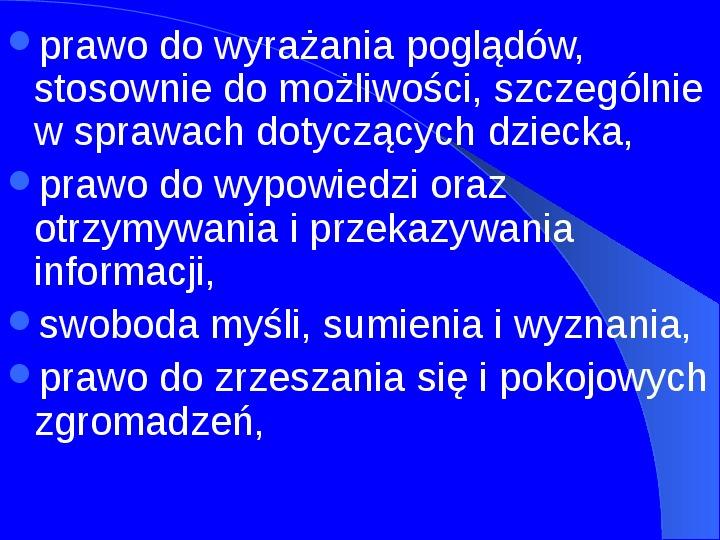 Prawa człowieka w Polsce - Slajd 5