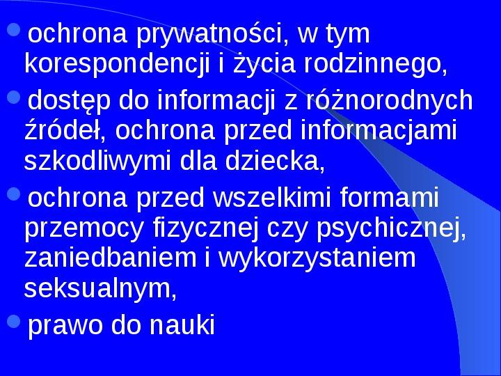 Prawa człowieka w Polsce - Slajd 6