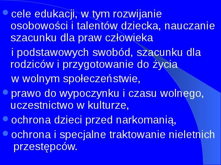 Prawa człowieka w Polsce - Slajd 7
