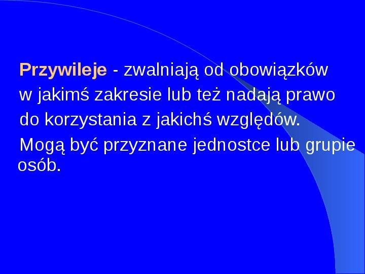 Prawa człowieka w Polsce - Slajd 10