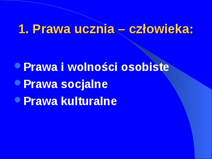 Prawa człowieka w Polsce - Slajd 11