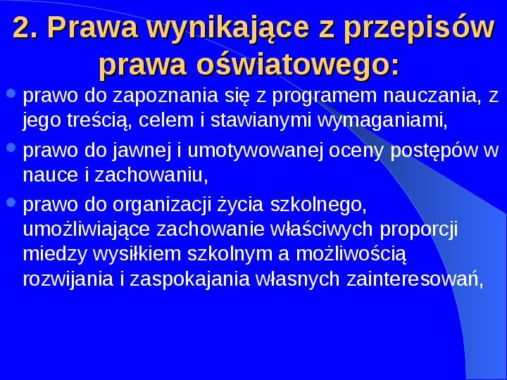 Prawa człowieka w Polsce - Slajd 12