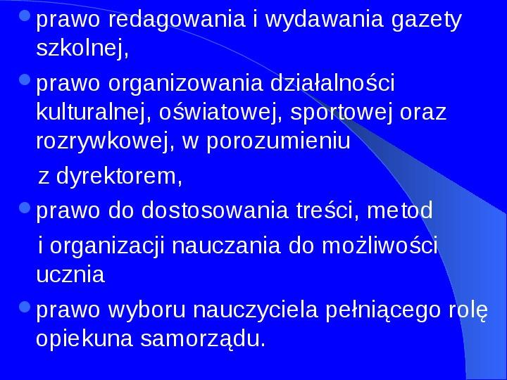 Prawa człowieka w Polsce - Slajd 13