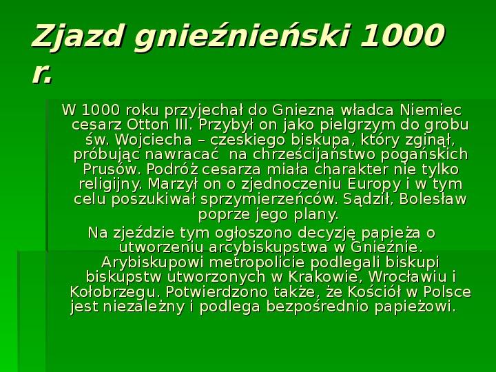 Bolesław Chrobry - Slajd 2
