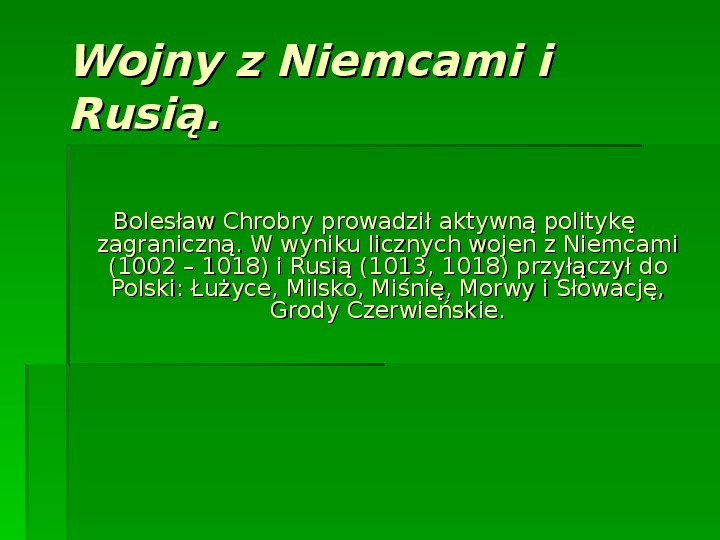 Bolesław Chrobry - Slajd 3