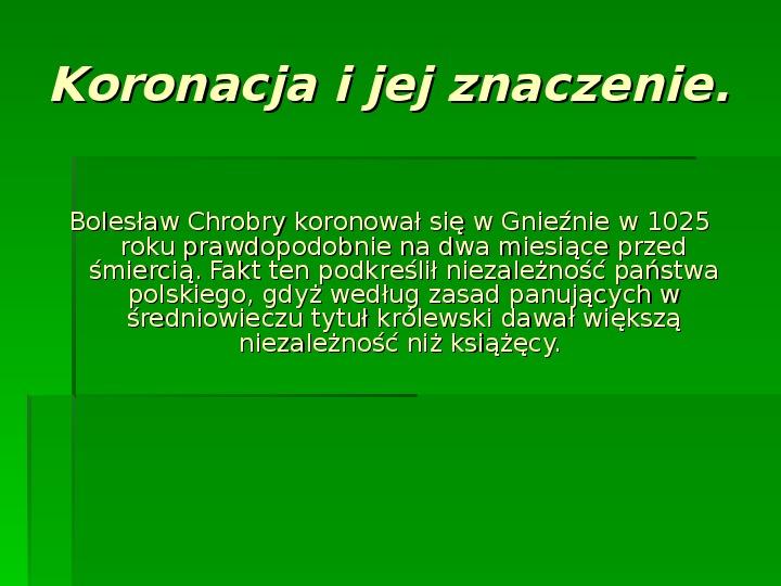 Bolesław Chrobry - Slajd 6
