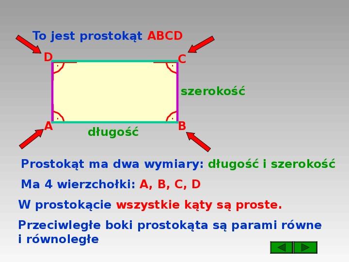 Prostokąt i kwadrat - Slajd 2