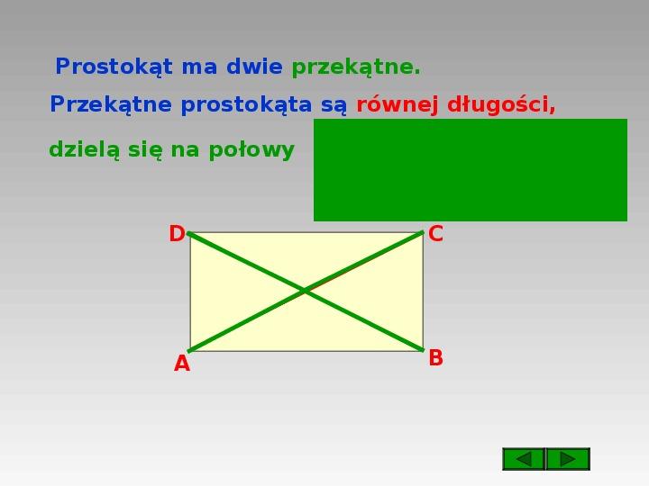 Prostokąt i kwadrat - Slajd 3