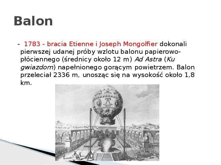 Rewolucja naukowo – techniczna w XIX wieku - Slajd 14