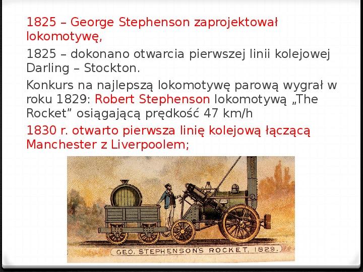 Rewolucja przemysłowa w pocz. XIX wieku - Slajd 7