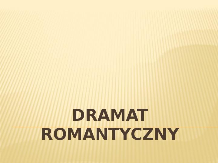 Romantyzm - Slajd 14