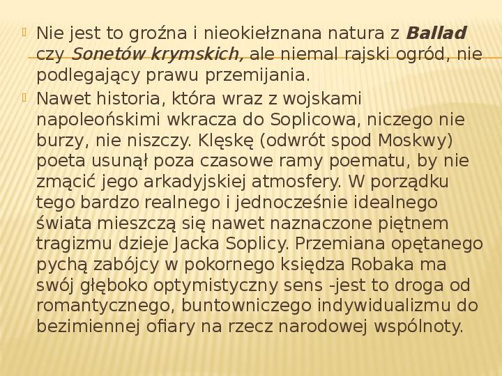 Romantyzm - Slajd 31