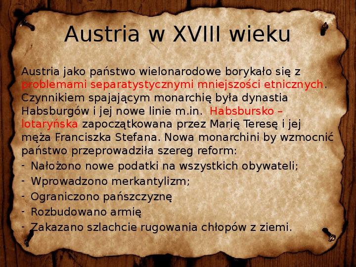 Rosja, Prusy i Austria w XVIII wieku - Slajd 24